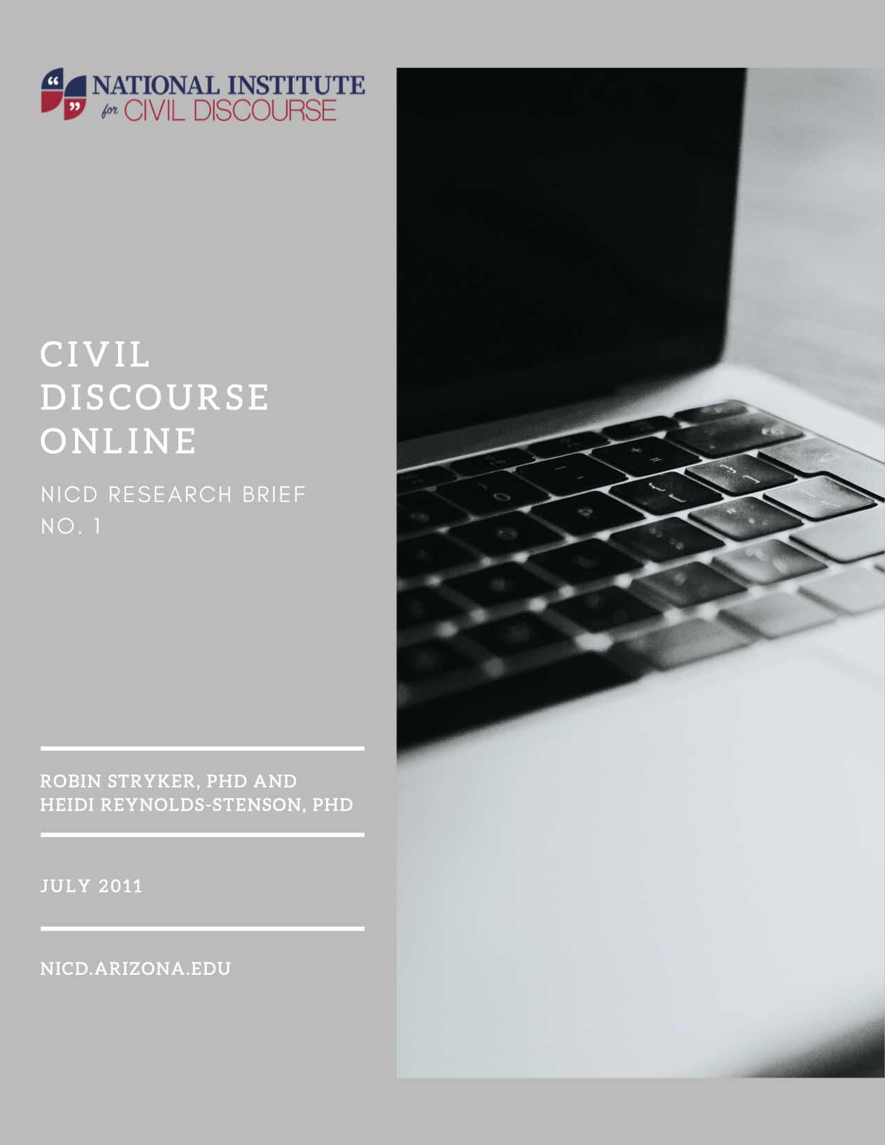 NICD Research Brief 1: Civil Discourse Online