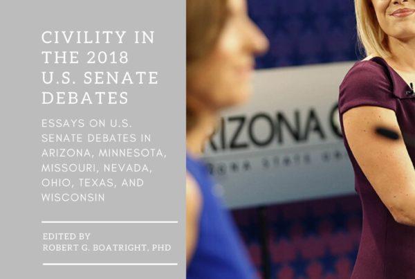 NICD 2018 US Senate Debates